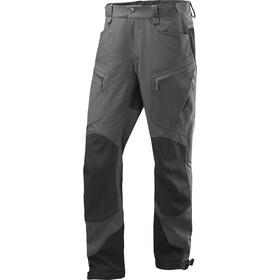 Haglöfs Rugged Mountain Miehet Pitkät housut , harmaa/musta